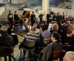 The Construction Site Contemporary Music Ensemble and conductor Premil Petrović