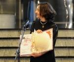 Aleksandra Vrebalov, the winner of the Mokranjac Award