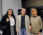 Organizational team of the Review of Composer - Ivana Trišić, Ivan  Brkljačić, Katarina Lazarević