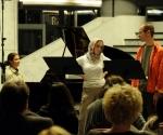 Neda Hofman, piano, Jelena Banković, soprano and  Vladimir Dinić, baritone