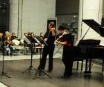 Duo Madlen Stojić-Vasiljević and Marija Misita, violins