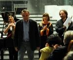Composer Žarko Mirković and Trio Motion