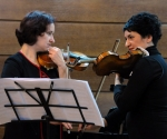 Duo Madlen Stokić-Vasiljević and  Marija Misita, violins