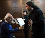 Composer Slobodan Atanacković and Trio Motion