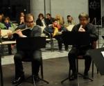 Ljubiša Jovanović, flute, Dragan Lazić, oboe, Ognjen Popović, clarinet, Igor Lazić, horn and Goran Marinković, bassoon