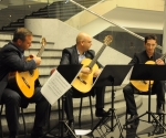 Relja Turudić, Zoran Anić i Miloš Janjić, gitare