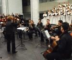 Akademski hor Collegium Musicum Beogradski gudački orkestar Dušan / Skovran, Neda Hofman, klavir, dirigent: Darinka Matić Marović