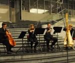 Milana Zarić, harfa, Borislav Čičovački, oboa Jelena Dimitrijević, violina  i  Ivana Grahovac, violončelo