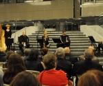 Milana Zarić, harfa, Karolina Beter, blok-flauta, Nenad Marković, truba, Vladimir Blagojević, harmonika i Jasna Veličković, klavijatura