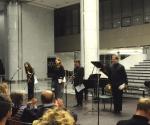 Maja Mijatović, mecosopran Dušica Mladenović, violina; Veljko Klenkovski, klarinet; Ivan Marjanović, udaraljke