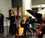 Jelena Banković, sopran; Stana Krstajić, flauta; Milana Zarić, harfa; Srđan Sretenović, violončelo