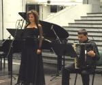 Jelena Banković, sopran Zoran Božanić, harmonika