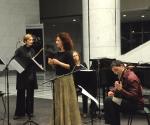 Aneta Ilić, sopran; Stana Krstajić, flauta; Natalija Mladenović, klavir;Miloš Janjić, gitara