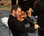 Stefan Milenković, violina