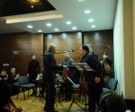 Kompozitor Dejan Despić čestita izvođačima