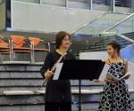 Stana Krstajić, flauta, Jelena Banković, sopran