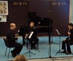 Bojan Pešić, oboa, Veljko Klenkovski, klarinet, Nenad Janković, fagot