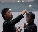 Ksiao Ma, kontratenor i dirigent Liu Shun