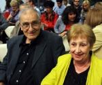 Ivana Trišić, predsednica UKS sa suprugom