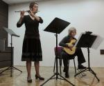 Stana Krstajić, flauta; Vera Ogrizović, gitara