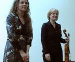 Branka Popović, kompozitorka; Nataša Stanojević, viola