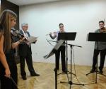 Janko Brezovar, recitator; Nevena Glišić, flauta; Jelena Dimitrijević, violina; Atila Sabo, viola
