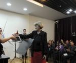 Kompozitorka Anica Sabo čestita izvođačima