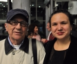 Kompozitor Vladan Radovanović i Katarina Lazarević