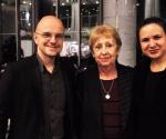Organizacioni tim Tribine Ivan Brkljačić, Ivana Trišić i Katarina Lazarević