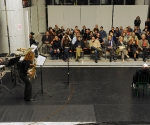 Maja Hajduković, alt saksofon; Ivan Marjanović, udaraljke; Žarko Stepanov, pantomima