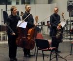 Dragan Đorđević, Srđan Sretenović i Dejan Božić, violončela
