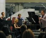 Stana Krstajić, flauta; Voja Dukić, fagot; Ljiljana Vukelja, klavir