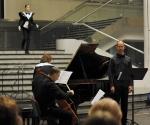 Ana Radovanović, sopran; Vlada Dinić, bariton; Srđan Sretenović, violončelo; Neda Hofman, klavir; Kostimograf: Boris Čakširan
