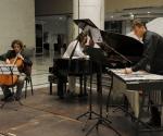 Aleksandar Latković, violončelo; Srđan Palačković, vibrafon; Jasna Tucović, klavir