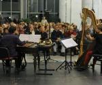 Pepe Garsija Rodrigez, cimbal i udaraljke, Milana Zarić, harfa