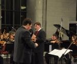 Veljko Klenkovski i dirigent Rade Pejčić