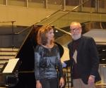 Pijanistkinja Neda Hofman i kompozitor Srđan Hofman