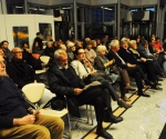 Publika (u prvom redu kompozitori Rajko Maksimović i Milan Mihajlović i muzikolog Zorica Premate)