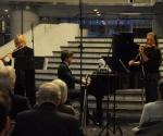 Stana Krstajić, flauta Selena Jakovljević, violina i Vladimir Gligorić, klavir