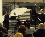 Vladimir Dinić, bariton Vladimir Gagić, klarinet Vladimir Gligorić, klavir