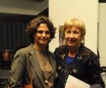 IvanaTrišić, predsednica UKSa sa ambasadorkom Izraela H.E Alona Fisher Kamm