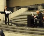 Lev Pupis, sopran-saksofon Ante Grgin, kompozitor