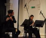 Aleksandar Ružičić, flauta Sanja Romić, oboa