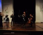Aleksandra Milanović i Bojana Jovanović, violine Saša Mirković, viola Đorđe Milošević, violončelo