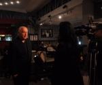 Kompozitor Pol Paterson daje intervju za RTS