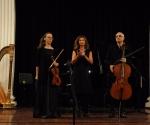 Aleksandra Milanović, violina, Neda Hofman, klavir, Srđan Sretenović, violončelo (Kompozicija