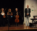 Muzičari sa Aleksandrom Perunovićem