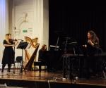 """Jelena Dimitrijević, violina, Milica Ilić, klavir, Katarina Jovanović, sopran (Kompozicija Ivane Stefanović """"Tišina"""")"""