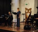 Srđan Sretenović, električno violončelo, Ana Radovanović, mecosopran, Neda Hofman, elektronika uživo