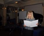 dr Mirjana Veselinović Hofman čita obrazloženje žirija za Nagradu